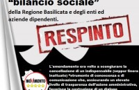 "Mantenimento della L.R. 13/2009 ""Bilancio sociale"""
