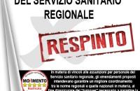 TURNOVER NELLE ASSUNZIONI DEL SERVIZIO SANITARIO REGIONALE