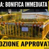 BONIFICA IMMEDIATA AL COVA