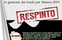 No Fondazione per Matera 2019