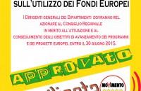Trasparenza e rendicontazione sull'utilizzo dei Fondi Europei