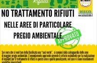 NO TRATTAMENTO RIFIUTI NELLE AREE DI PARTICOLARE PREGIO AMBIENTALE