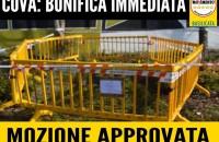 BONIFICA IMMEDIATA AL COVA