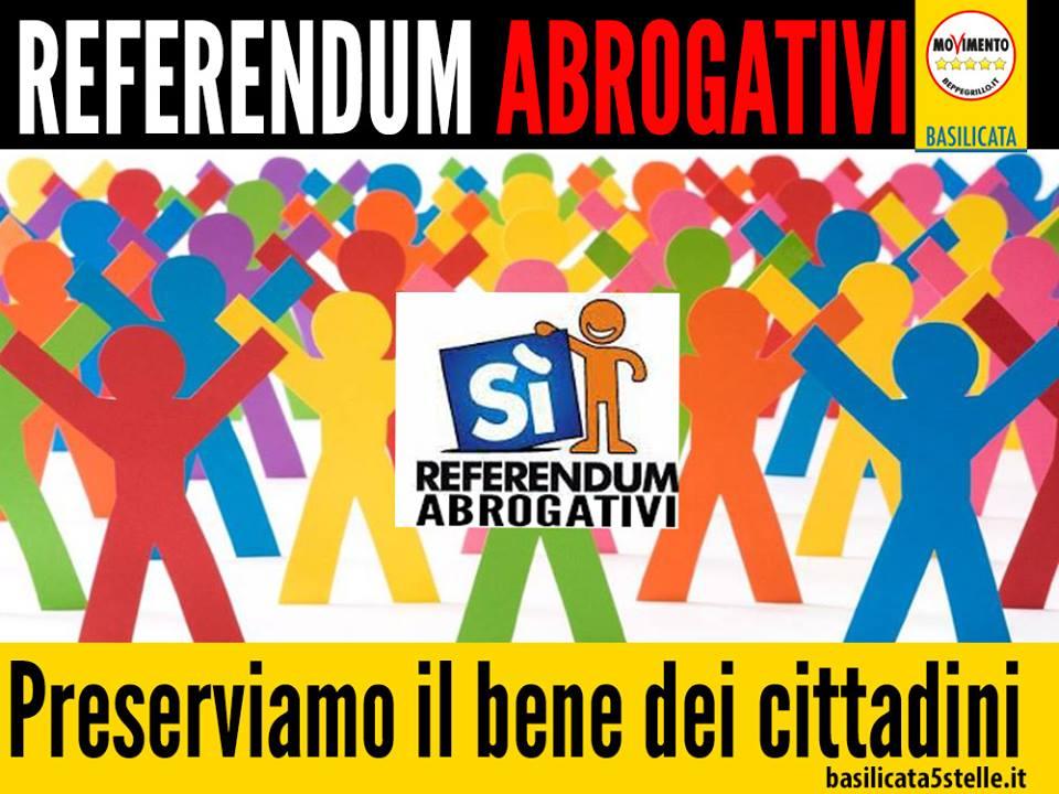 referendum abrogativo basilicata