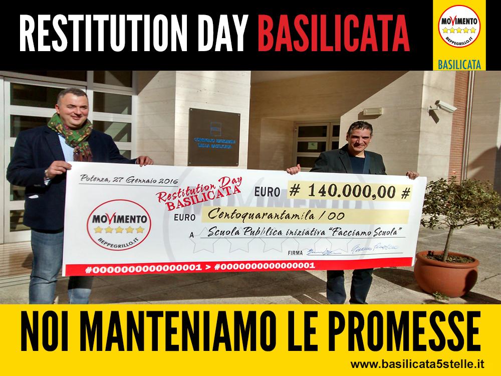 'FacciAMO Scuola' – I° Restitution day tutto Lucano (servizio TgR)