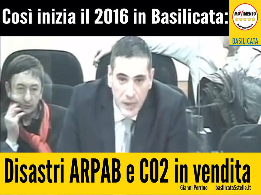 Mentre emergono i disastri di ARPAB, la Regione ipotizza la vendita di quote di CO2 ad ENI.