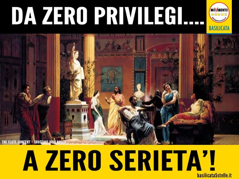 """Da """"zero privilegi"""" a """" zero serieta' """": dalla proposta approvata sui vitalizi, solo poche briciole, molliche… Il privilegio resta quasi intatto."""