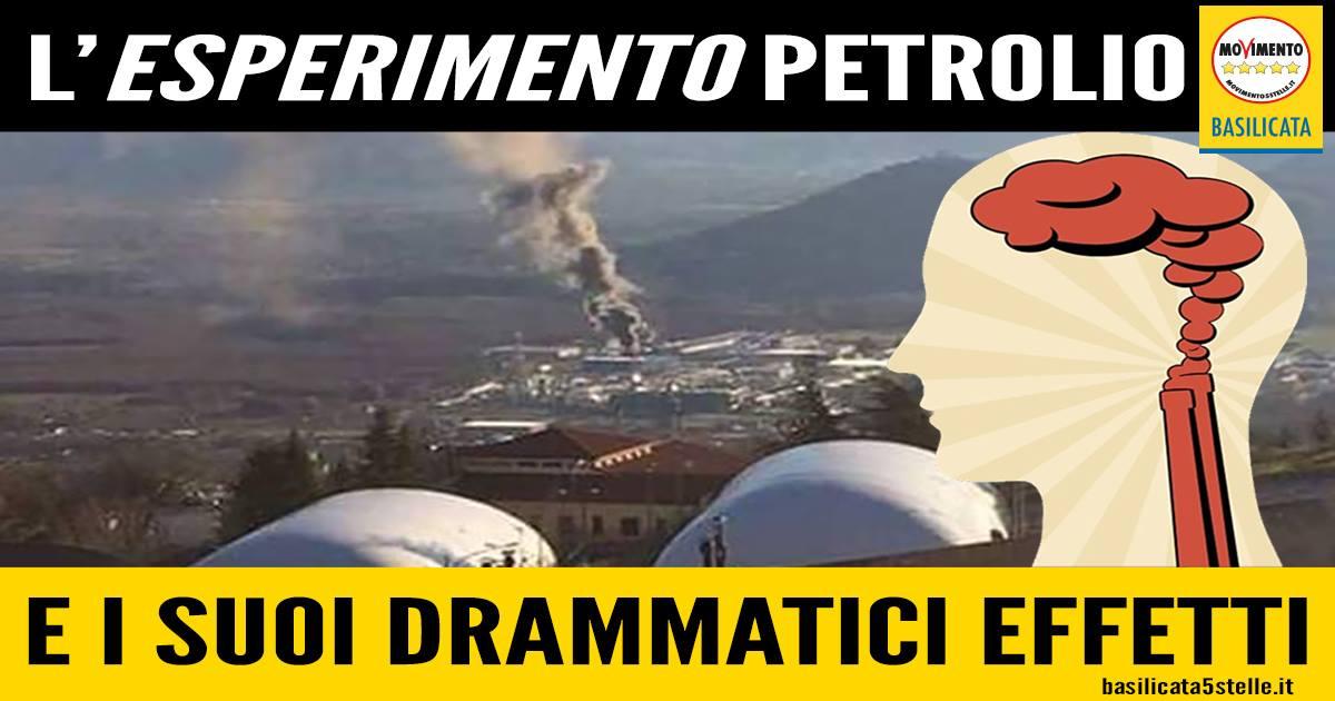 I drammatici effetti delle estrazioni petrolifere sulla popolazione di Viggiano e Grumento Nova. - m5stelle.com - notizie m5s