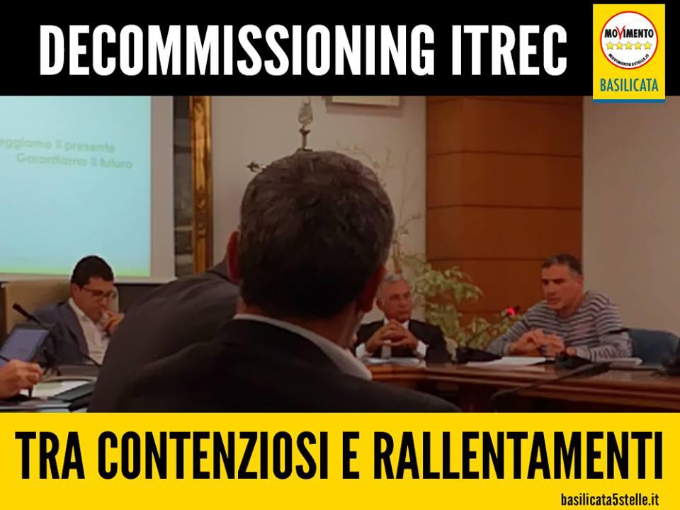 Il decommissioning ITREC tra contenziosi e incidenti di percorso.