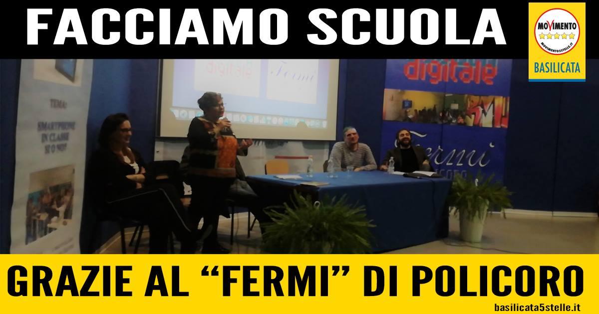 """Facciamo Scuola: grazie all'Istituto """"Enrico Fermi"""" di Policoro (MT)."""