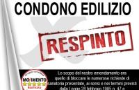 STOP ALL'ENNESIMO CONDONO EDILIZIO
